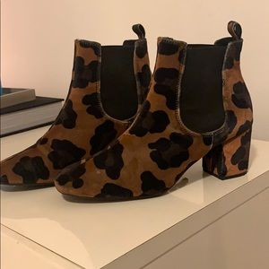 LF Cheetah booties